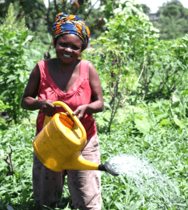 Agnes is one of Opportunity's first clients in the DR Congo, and she is now able to support herself and her family.